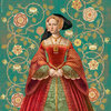 Jane Seymour portrait for Six Tudor Queens by Alison Weir, Headline Publishing Group London 2017-18