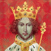 "Cover art ""Richard II"" by Laura Ashe, Penguin Press UK 2016"