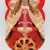 St. Catherine of Alexandria for W-Women in Italian Design Exhibition