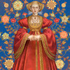 Anne of Kleve Queen portrait for Six Tudor Queens by Alison Weir, Headline Publishing Group London 2017-19