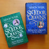 Anne Boleyn and Katherine Of Aragon cover and frontispiece, SIX TUDOR QUEENS by Alison Weir