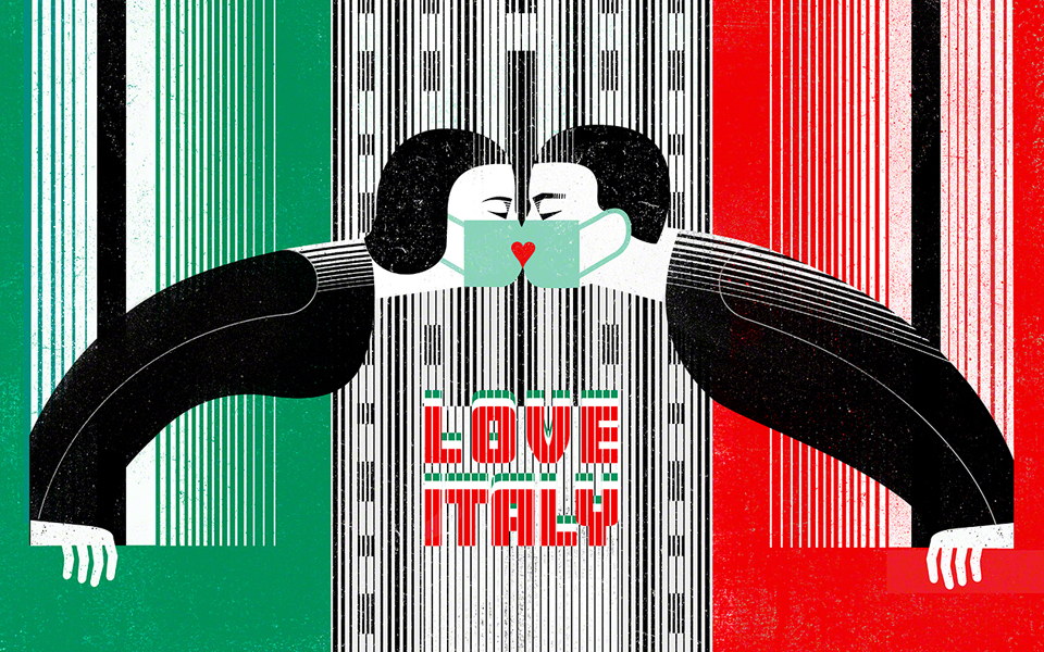 Love Italy! Milan resists! Stay home!